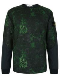 Stone Island Alligator Camouflage Sweatshirt