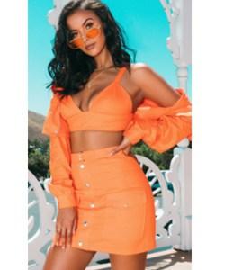 Orange Bralet