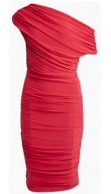 Women's Clothing Red Dress