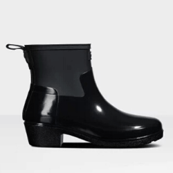 Low Heeled Welly Boots