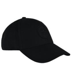 Stone Island Black Logo Cap